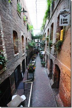 Old Market Omaha inside