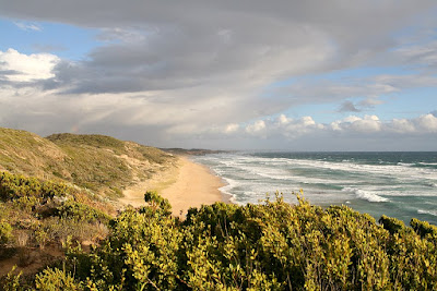 The back beach (ocean side) near Portsea, Victoria on the Mornington Peninsula
