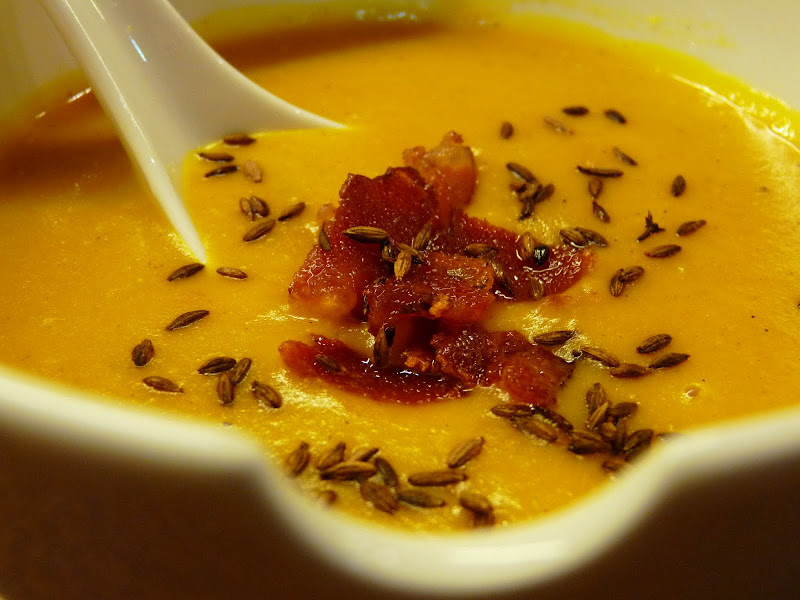 Lithuanian Cooking in India: Creamy Pumpkin Soup with Coconut Milk