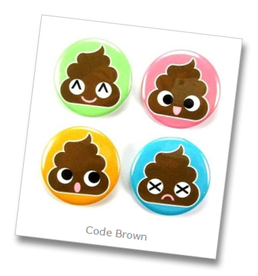 Code Brown, not Nearly as Exciting, but Often More Enlightening than the Blue Variety young rn poop patients old nurses inspire funny comedy code brown