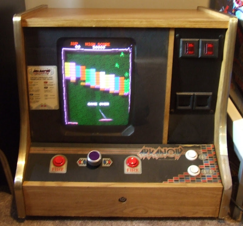 What Cabinet is an Arkanoid Supposed to be in [Archive] - KLOV ...