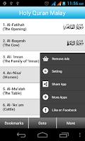 Screenshot of Al Quran Mal + Audio Full_Free