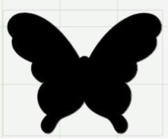 084 simple butterfly