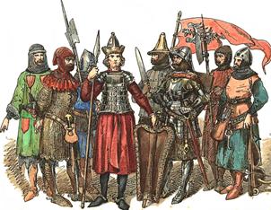 Ejército polaco siglos 14 y 15