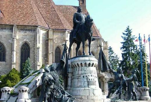 Matias I Corvino, en Kolozsvar, actualmente Rumania
