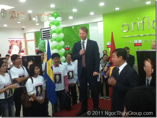 Jesper Martinsson Sang Tham Oriflame Vietnam 2
