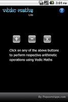 Screenshot of Vedic Maths