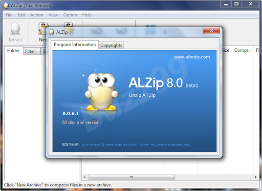 Get ALZip 8.0 Free License