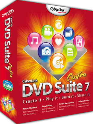 Download Cyberlink DVD Suite 7 Centra with Free License Key