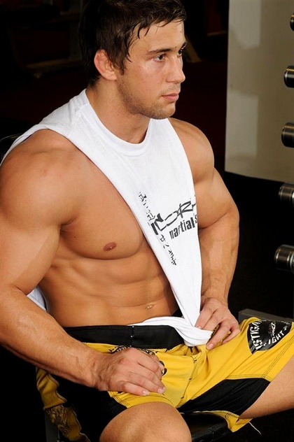 Hot Hunk Guy - Work Out
