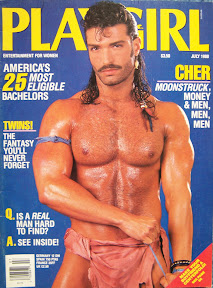 Playgirl July 1988 Cover Guy Brian Moss