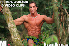 Muscle Hunk Herman Jurado