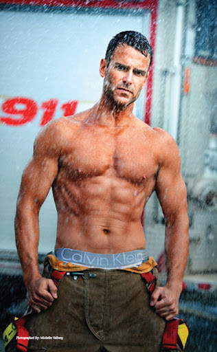 Fire Fighter Calendar Men