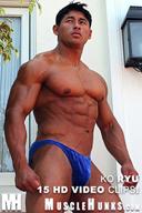 Ko Ryu - Chiseled Japanese Muscle Hunk