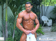 Hung Muscle Hunks Model - Rico Elbaz