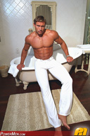 Sebastian Storm Tennis Pro with Razor Sharp Abs Muscle Hunk