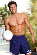 TJ Hoban Sexy Muscle Hunk Fitness Male Model