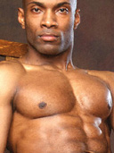 Sexy Black Hung Muscle Hunk Preston Scott