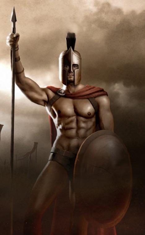 from Magnus nude black men warriors