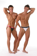 Sexy Muscle Men in Color Underwear Pictures Gallery 3