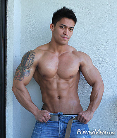 Hot Muscle Guy, Dicky Alday - PowerMen HD