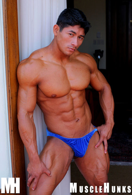 Ko Ryu - Muscle Stallion, Japanese MuscleHunks