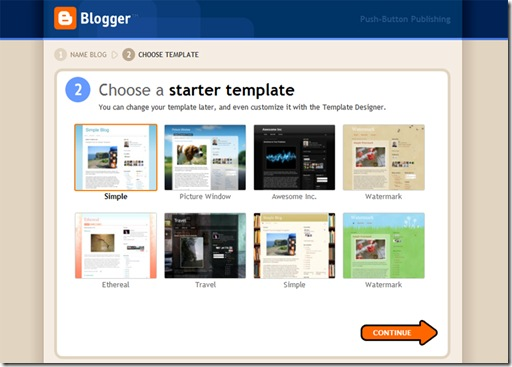 how to create a blogspot blogger