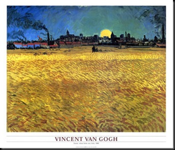 vincent van gogh - summer evening