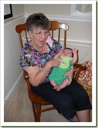 Great Gma with Ryleigh