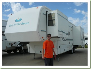 Kev & his 02 RV