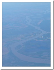 Mississippi River from the air