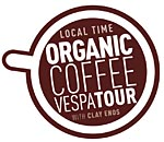 Organic Coffee Vespa Tour Logo