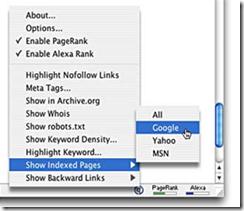 option searchstatus