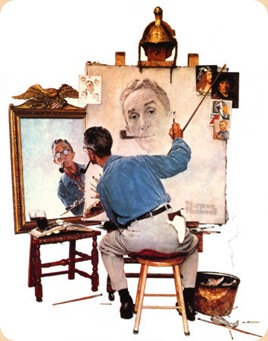 Norman Rockwell - Self Portrait