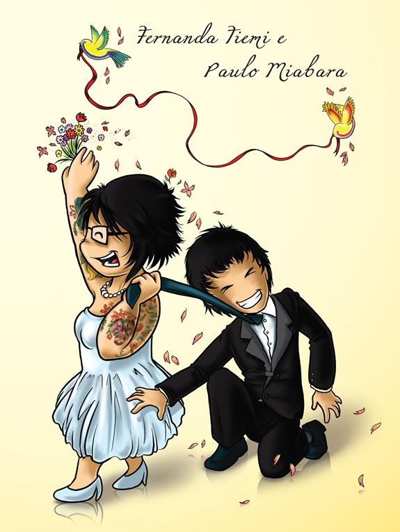 Convite Casamento Tiemi e Paulinho - 20x15cm.indd