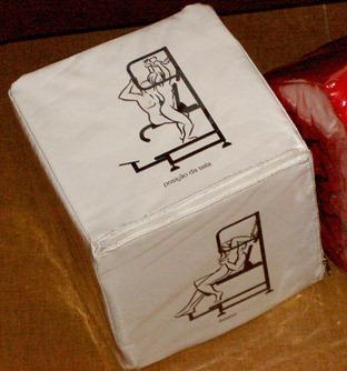 Dado - posições cadeira erótica