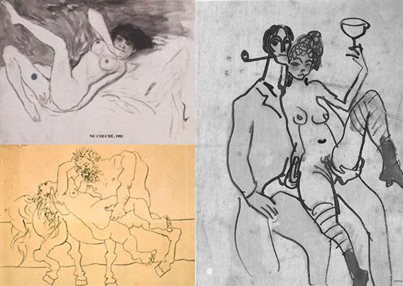sketches picasso