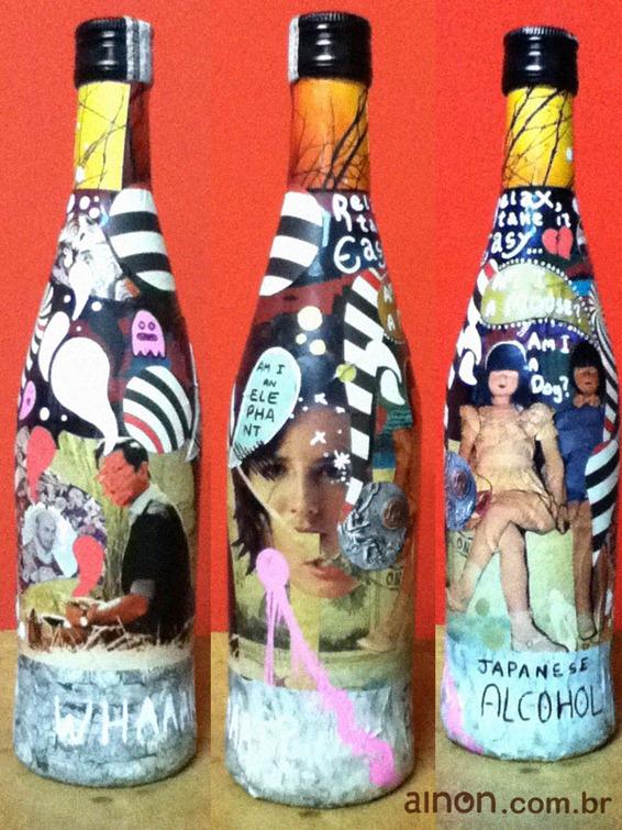 garrafa customizada