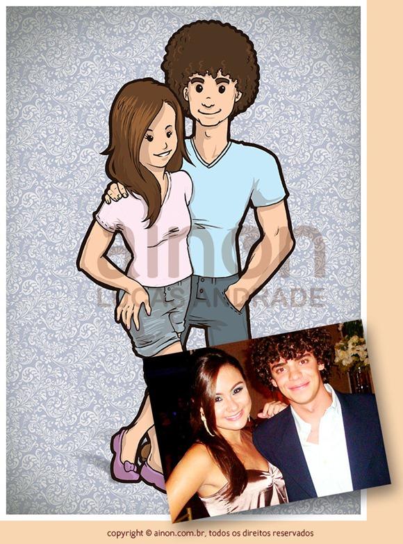 Ana Laura e namorado
