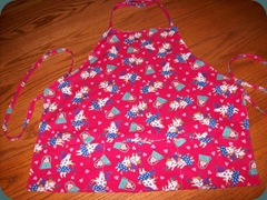 pink pig apron 1