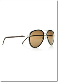 Cutler and Gross Metal-frame acetate aviator sunglasses