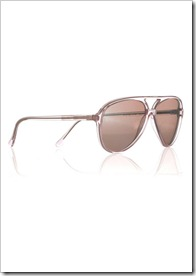 Cutler and Gross Mirrored aviator-style acetate sunglasses