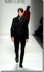 Mik Cire Runway Photos Fall 2011 12