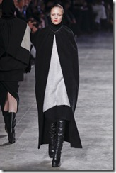Rick Owens RTW Fall 2011 Runway Photos 5