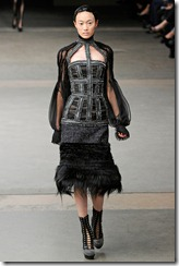 Alexander McQueen RTW Fall 2011 Runway Photos 11