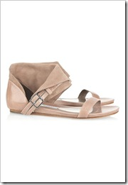 Camilla Skovgaard Cracked-leather and suede sandals