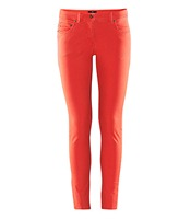 5-pocket low-rise slim-fit trousers