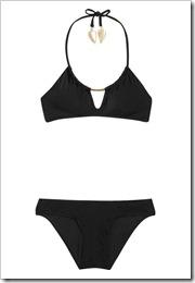 Zimmermann Embellished halterneck bikini a
