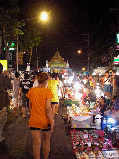 Sunday Walking Street Market Chiang Mai