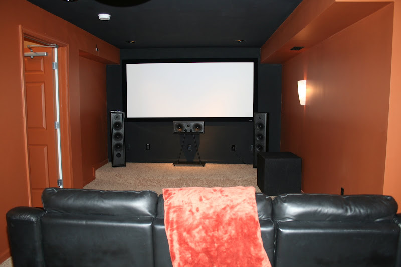Best home theater paint color blu ray forum Home theater colors